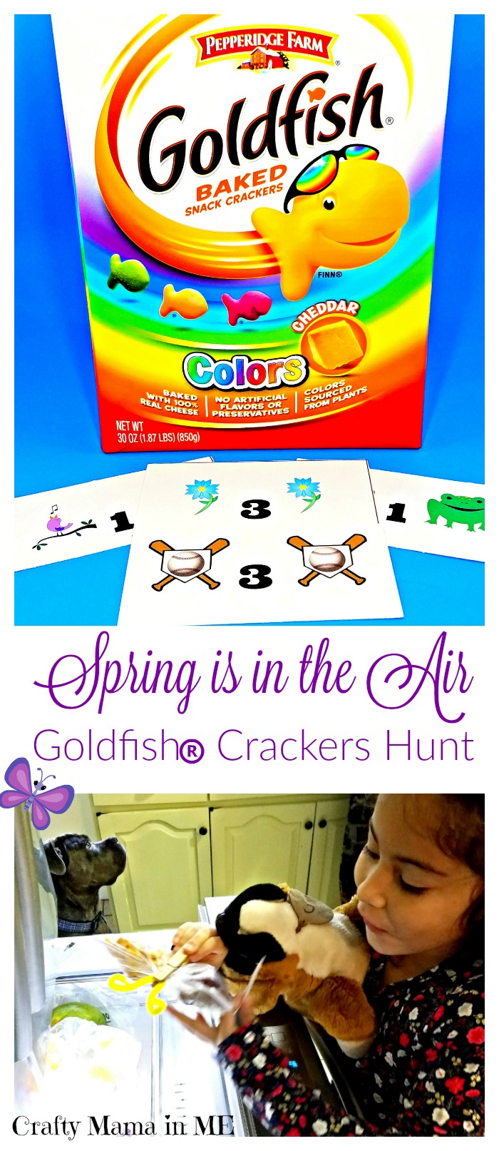 Spring is in the Air Goldfish® Hunt {Free Printables}