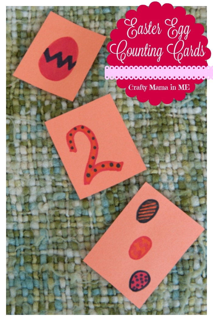 Easter Egg Counting Cards