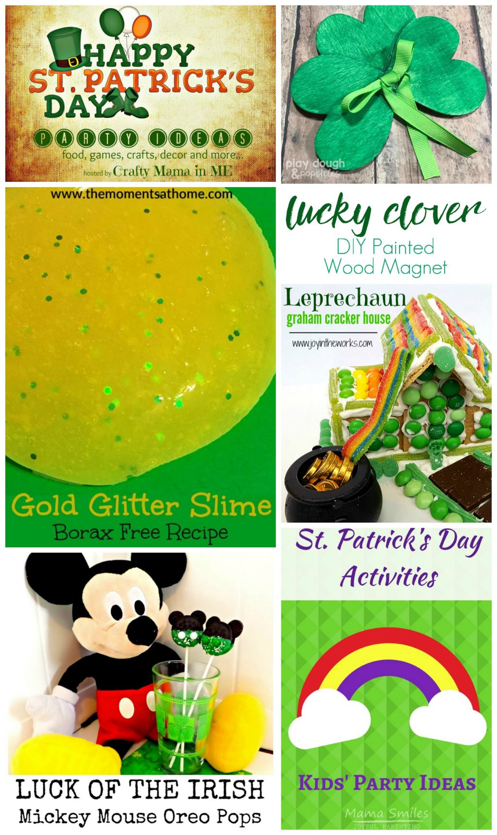 St Patrick's Day Party Ideas Blog Hop