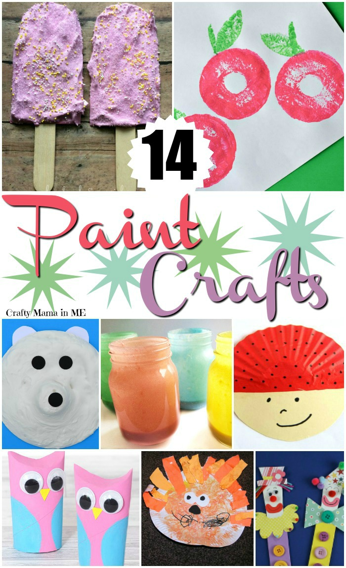 Get Artistic with 14 Paint Crafts for Kids