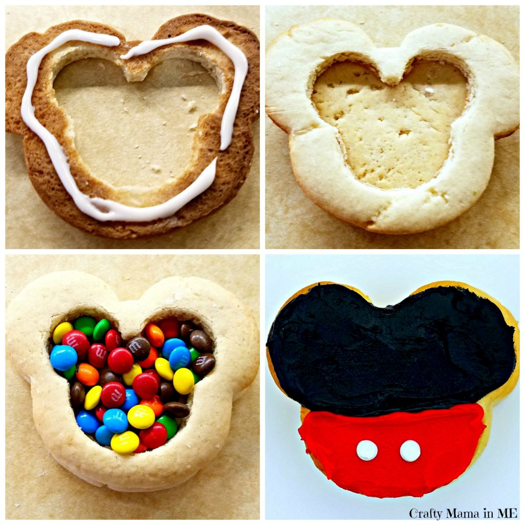 Surprise Mickey Mouse Themed Hidden Treasure Cookies