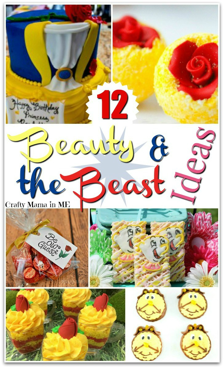 12 Beauty and the Beast Inspired Party Ideas