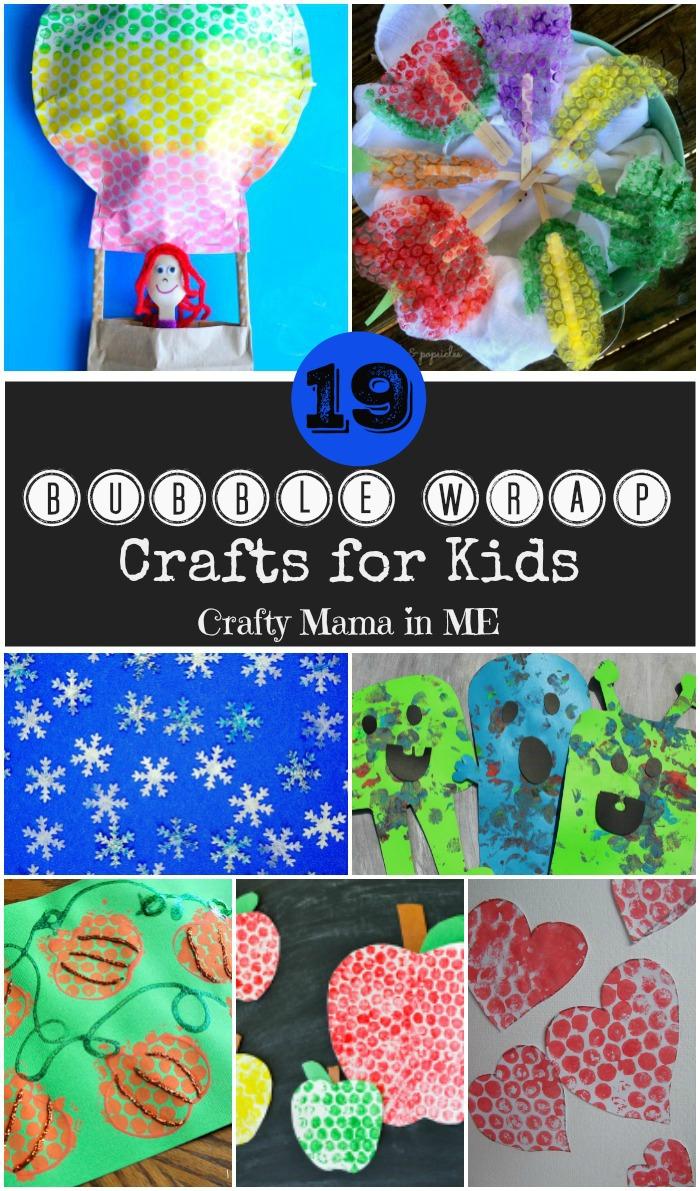 19 Fun Bubblewrap Crafts for Kids