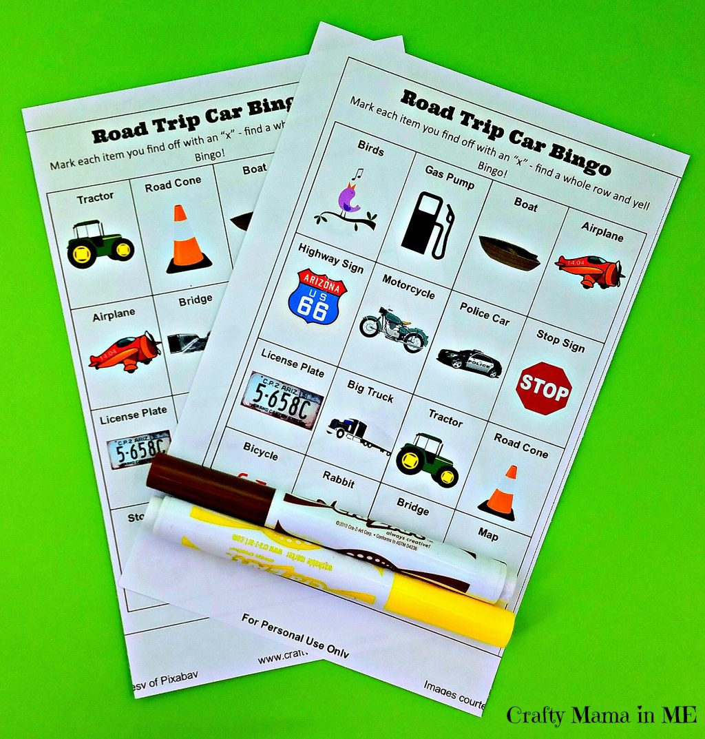 Hit the Road as a Family {Free Bingo & Essentials List}