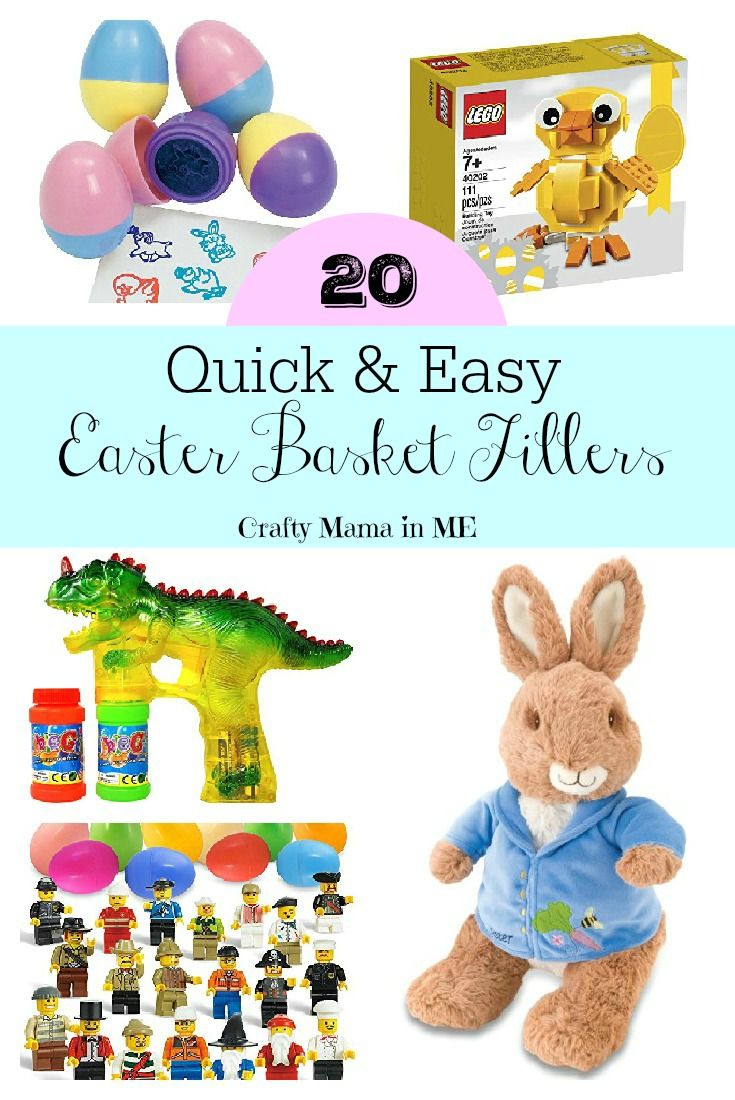 Quick & Easy Easter Basket Fillers