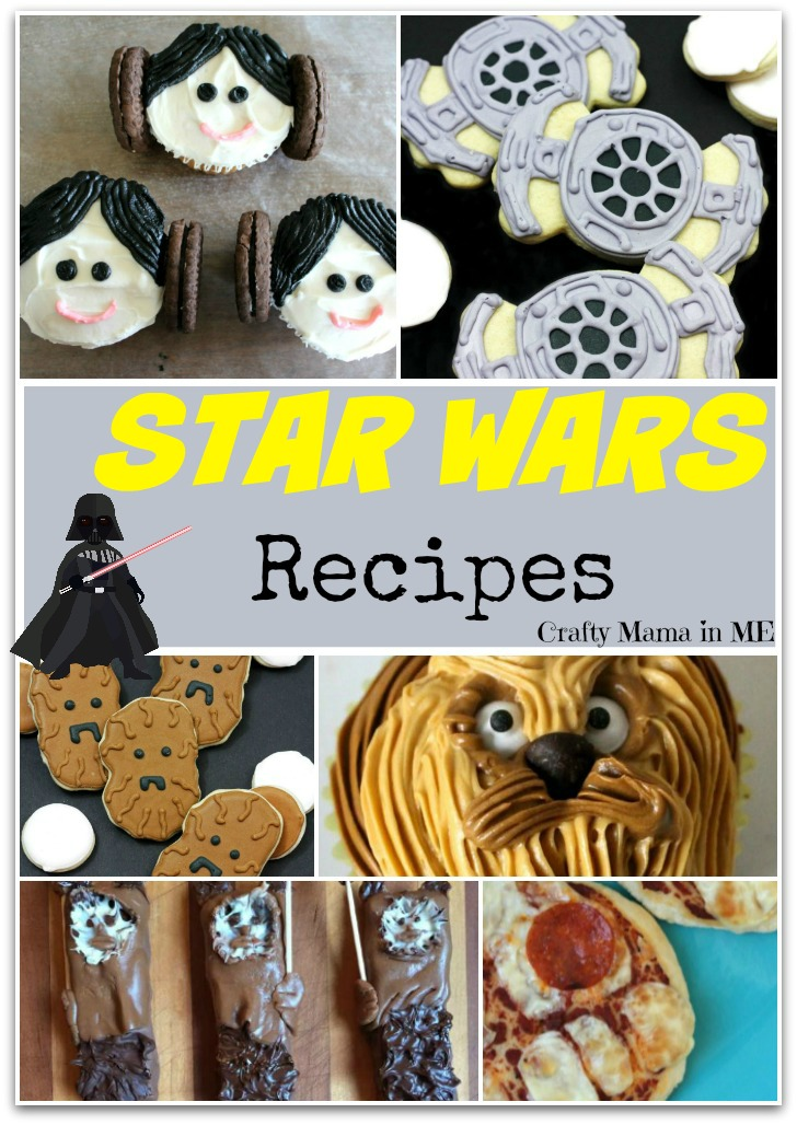 May the Force be with You Star Wars Recipes