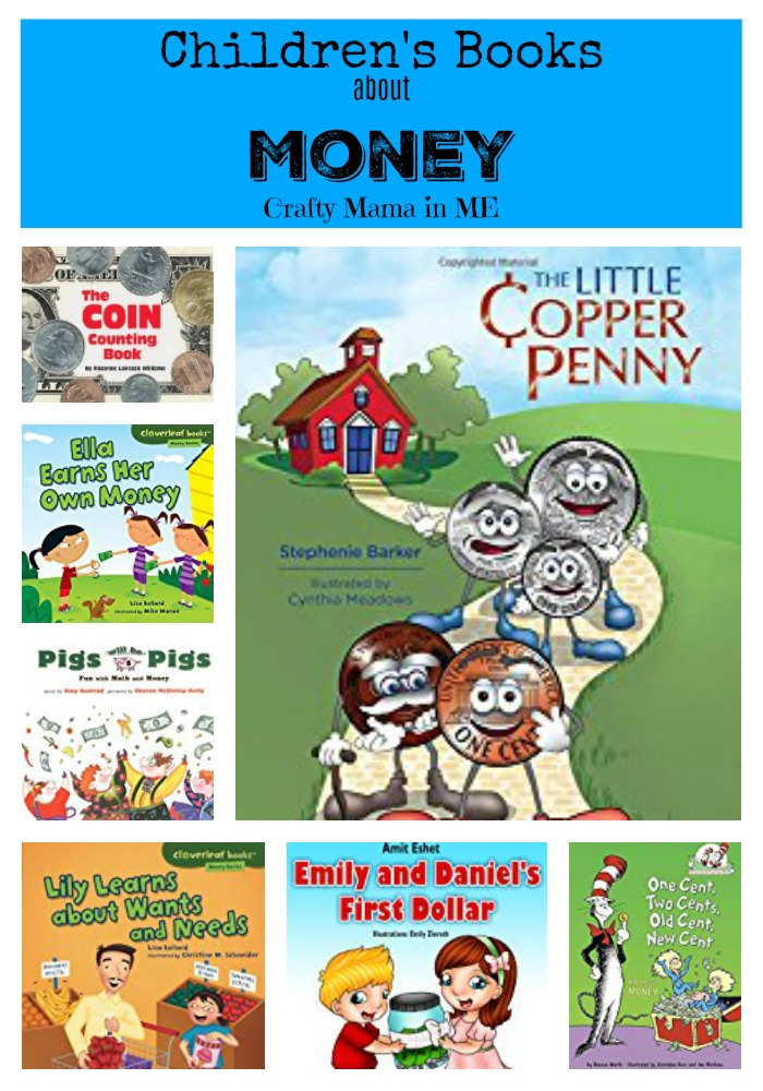 Make Learning fun with these Children's Books about Money