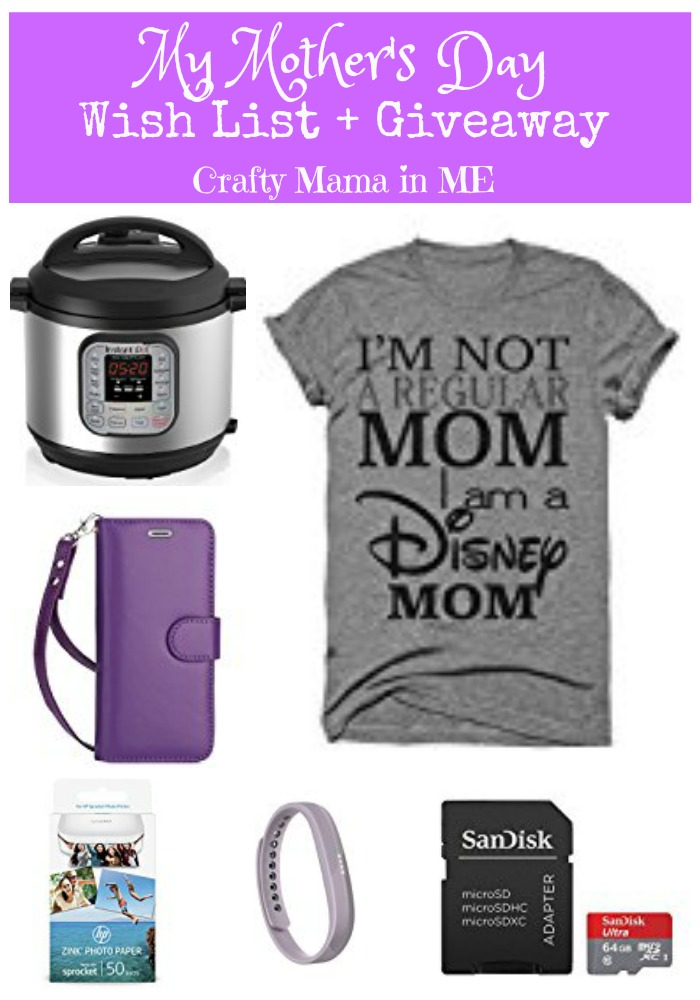 My Mother's Day Wish List + Giveaway