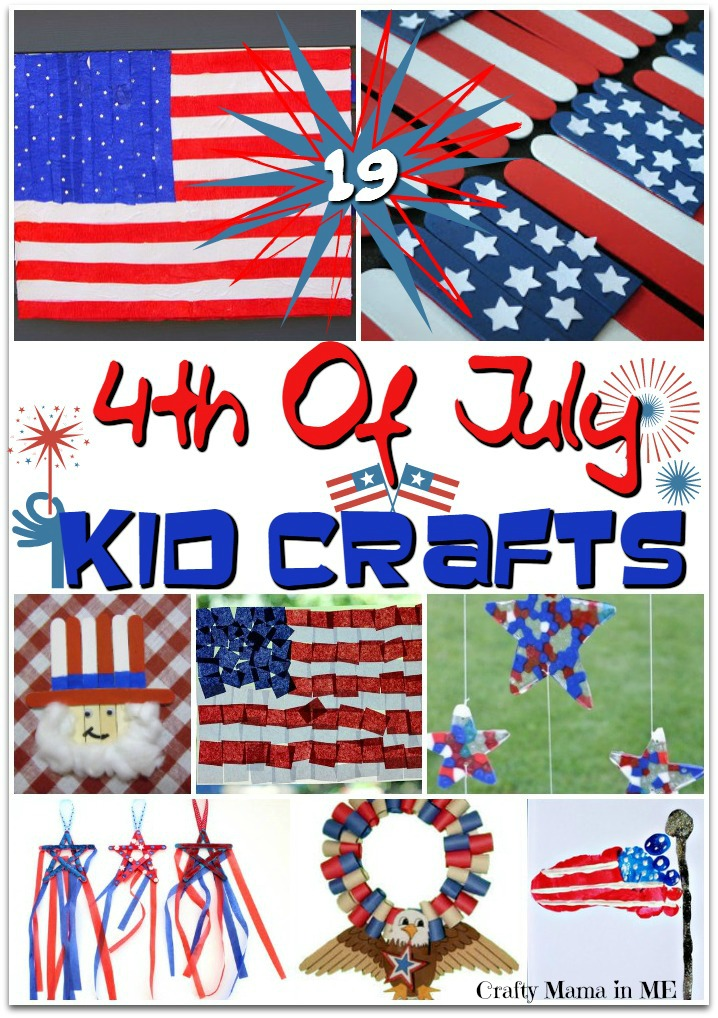 19 Fun and Easy Patriotic Kids Crafts