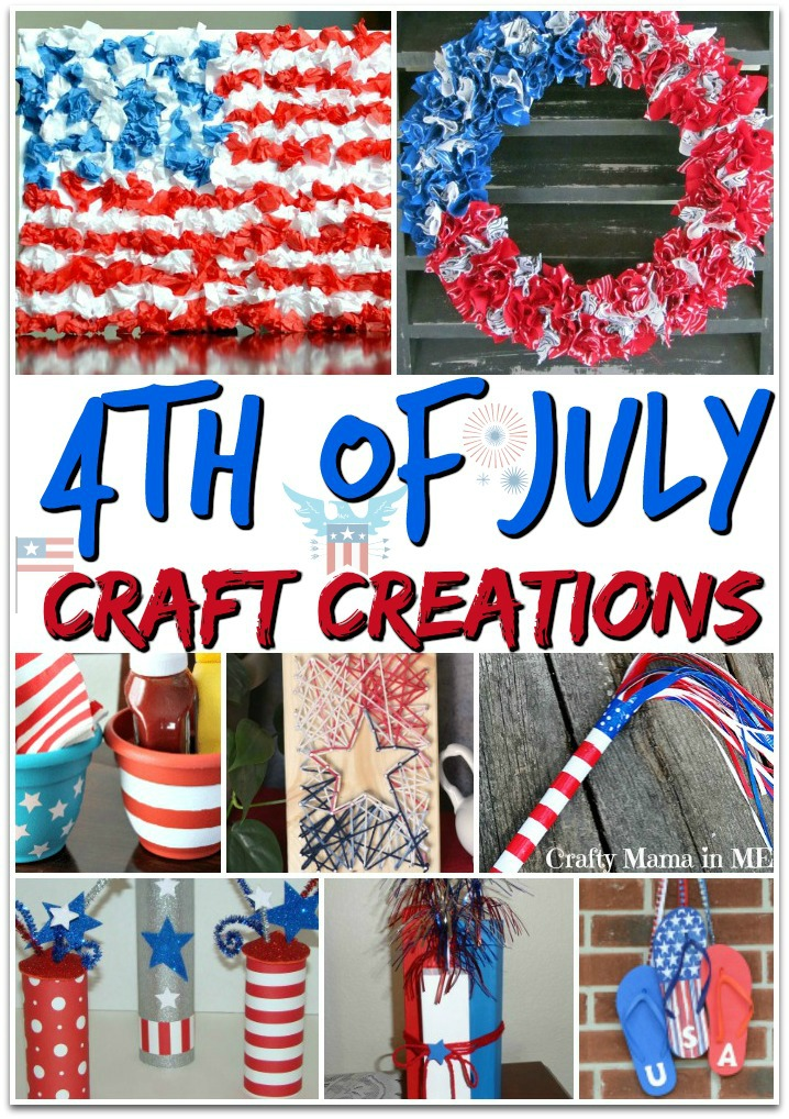 19 Festive Patriotic Craft Creations for Moms