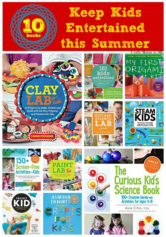 10 Books to Help Keep Kids Entertained this Summer