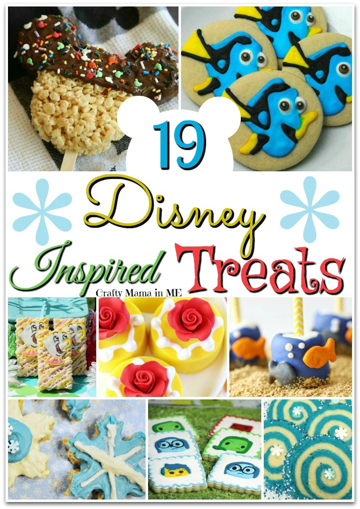19 Disney Inspired Sweets and Treats