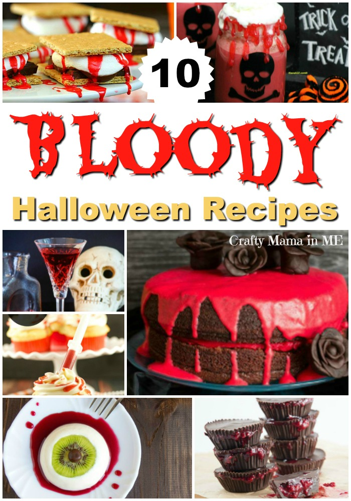 10 Hauntingly Bloody Recipes for Halloween