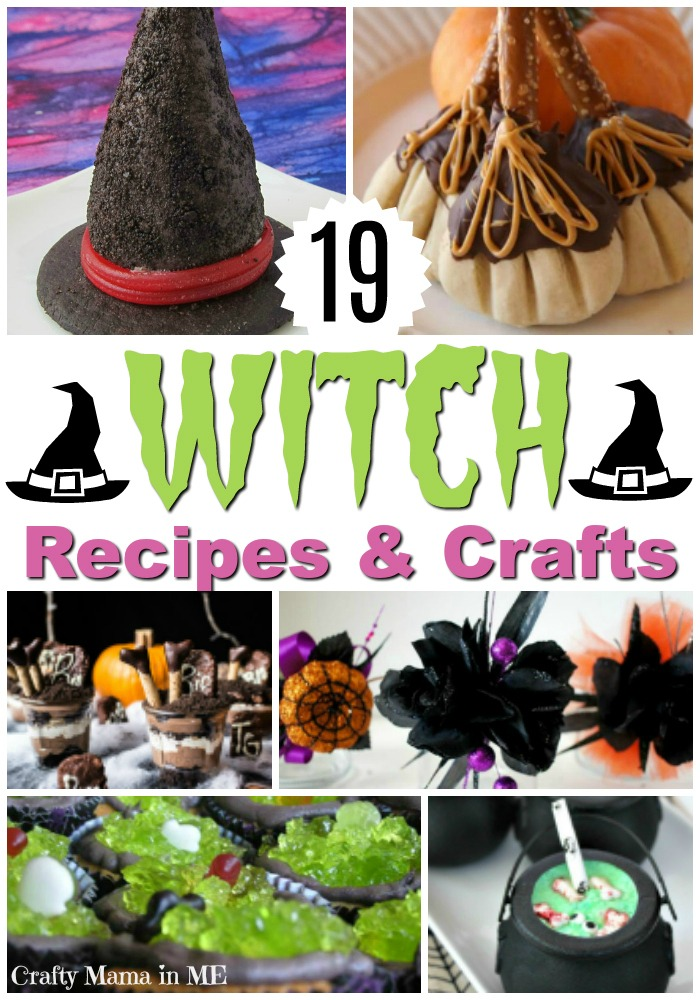 19 Witch Recipes & Crafts for Halloween