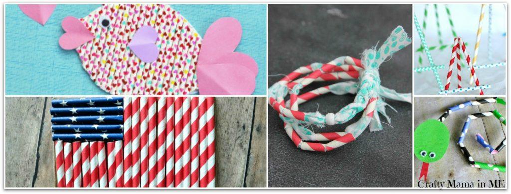 20 Super Fun Straw Kid Crafts