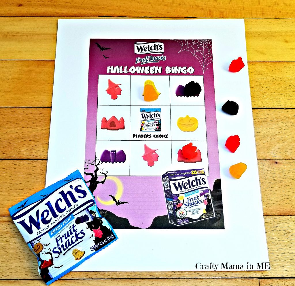 Welch's Fruit Snacks Halloween Challenge. Have a fun and easy Classroom Halloween Party this year!