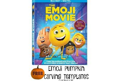 FREE Emoji Movie Pumpkin Carving Templates - Crafty Mama in ME!