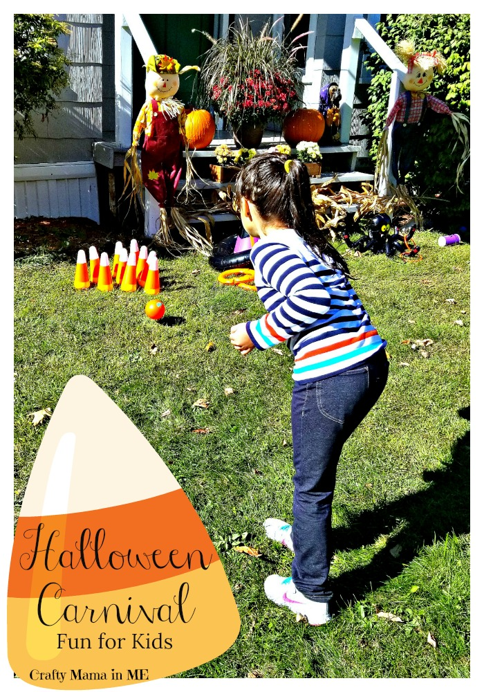 Halloween Carnival Fun for Kids made Easy. Planning a Halloween Party? Be sure to check out @OrientalTrading for great games and prizes on a budget! #ad