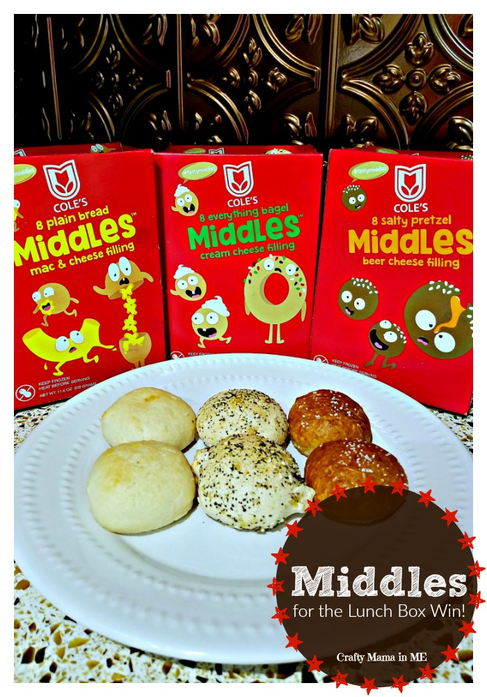My kids are in love with the new Middles™. So much so they wanted them for lunch! Cole's Middles™ for the Lunch Box Win! #tastymiddles #ad