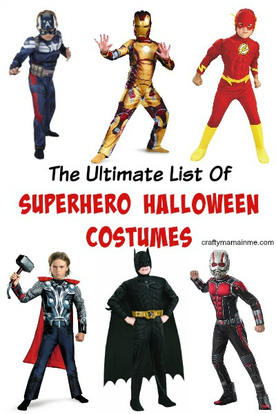 The Ultimate List of Superhero Halloween Costumes