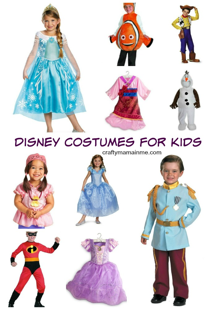Disney Character Costumes for Kids