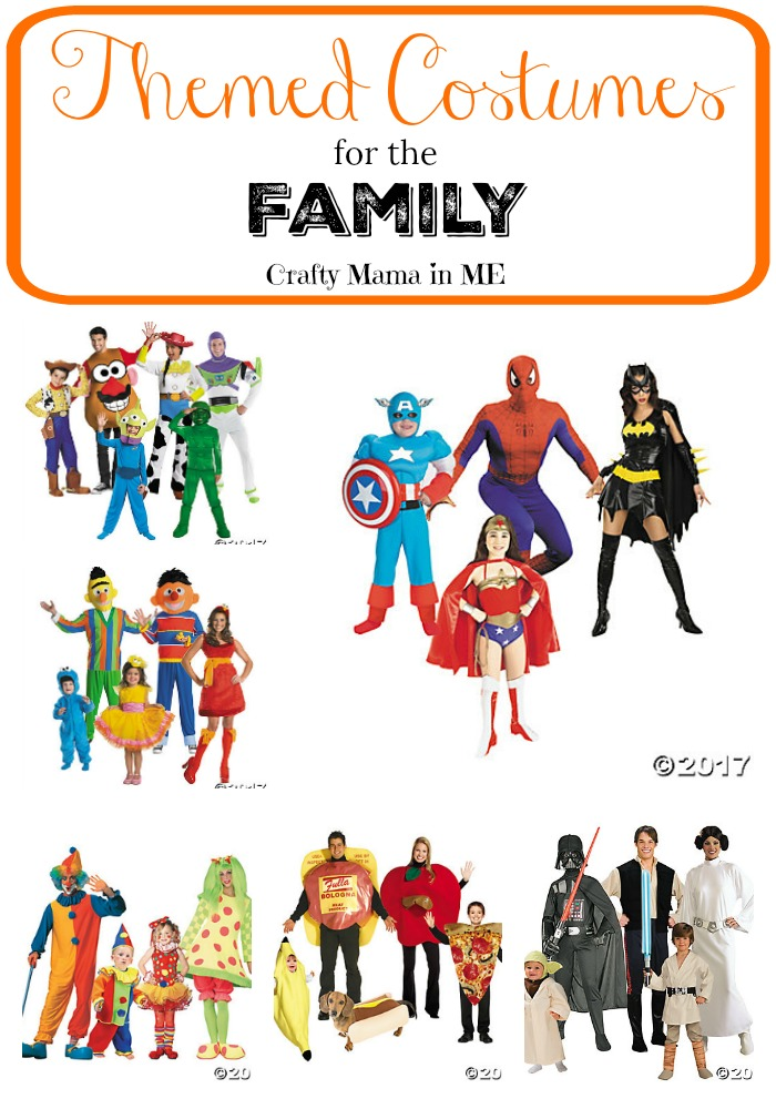 Fun Themed Costumes for the Whole Family. Dress up for Halloween with Ease!