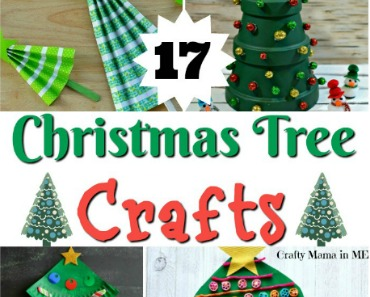 Festive and Fun Kids Christmas Tree Crafts