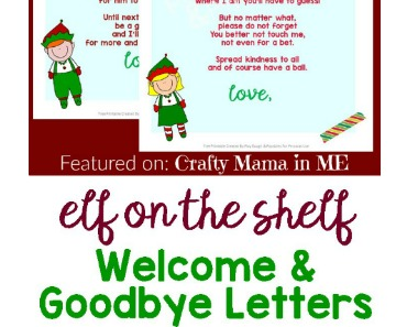 Elf on the Shelf Letters Free Printables Crafty Mama in ME