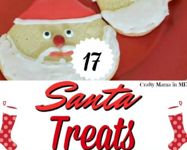 Cute Santa Treats for Christmas