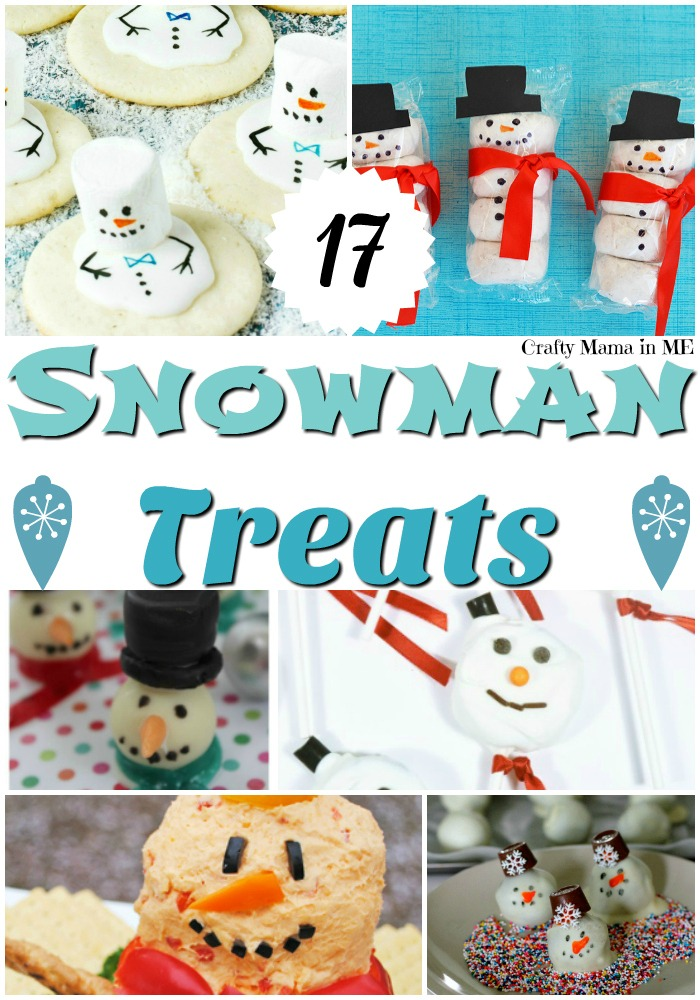 Fun and Easy Snowman Treats
