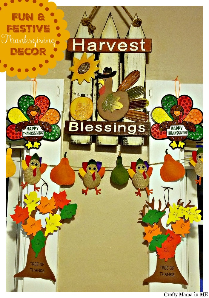 Kidcentric Fun and Festive Thanksgiving Decor