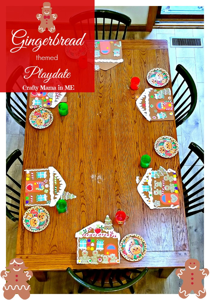 Host a Gingerbread Cookie Themed Playdate