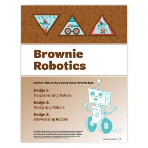 Circuit Cubes & the Brownie Programming Robots Badge