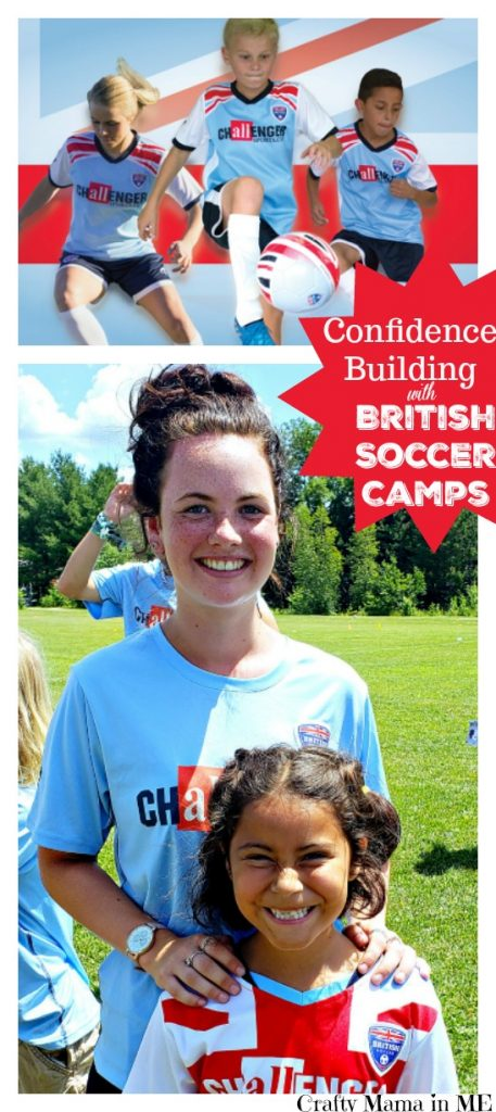 Confidence Building at British Soccer Camp
