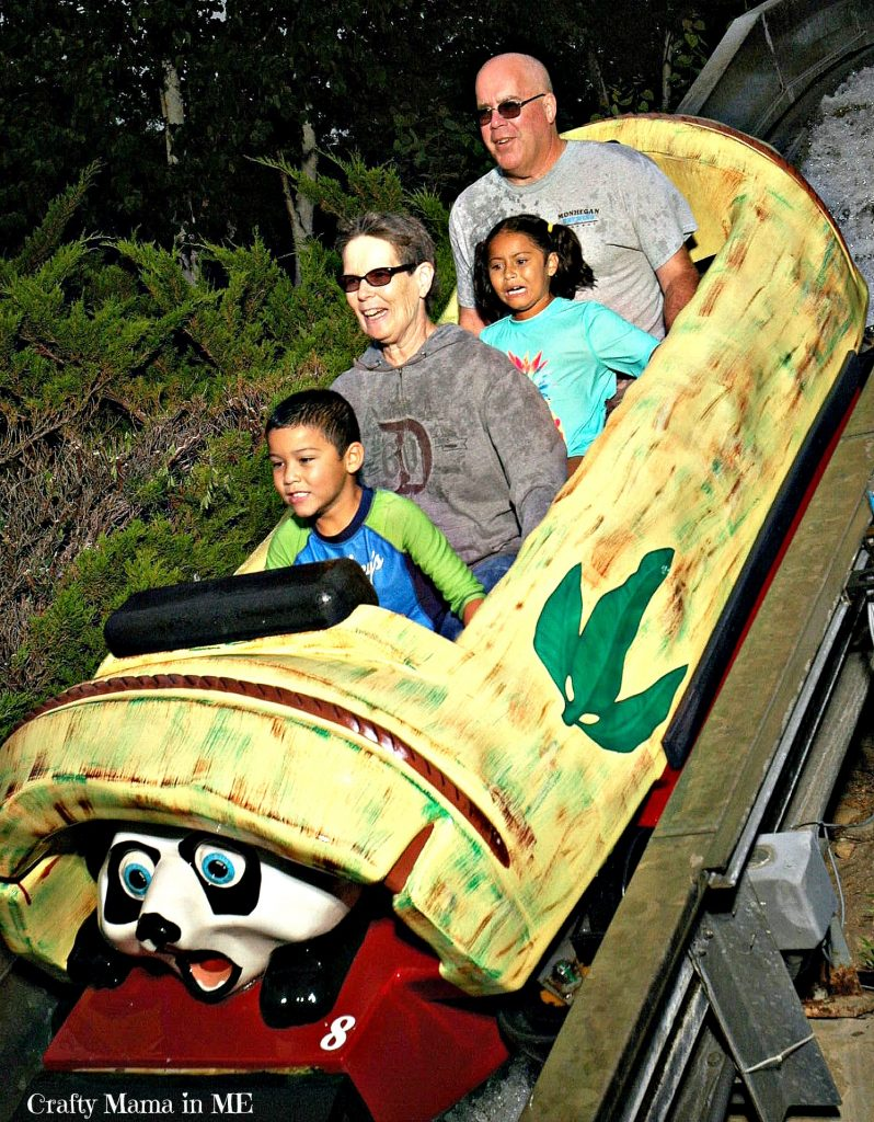 Multigenerational Family Trip to Story Land