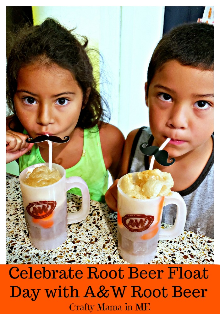 Celebrate Root Beer Float Day with A&W Root Beer