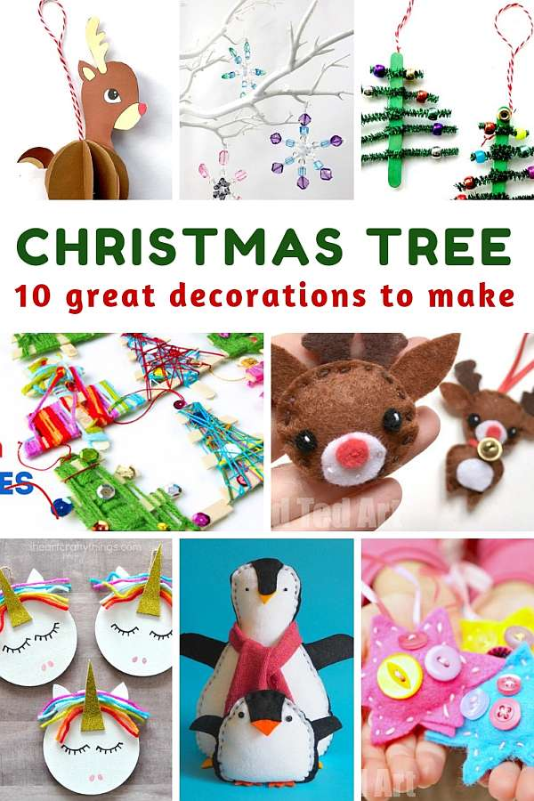 10 Great Decorations for the Christmas Tree